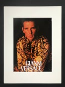 Image of Gianni Versace Mens Couture Advertisement 1991
