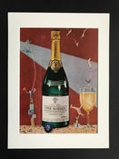 Image of Piper Heidsieck Champagne Advertisement 1952