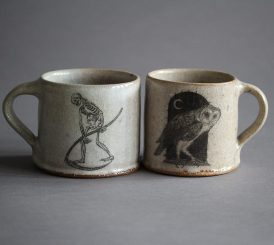 Image of Death of the Night. Ceramic mug