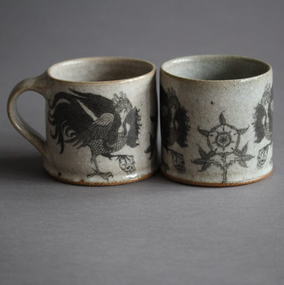 Image of (PRE-ORDER) Song of the Sirin. Ceramic mug.