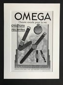 Image of Omega Watch Advertisement 1933