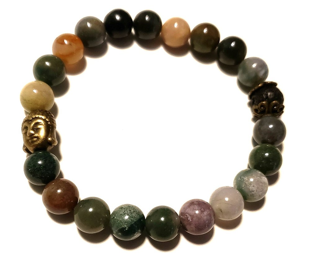 Image of Stay Calm with Indian Agate