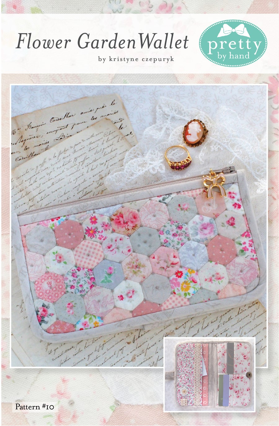 Image of PDF VERSION - Flower Garden Wallet Pattern