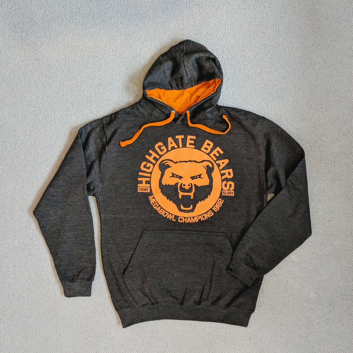Image of Highgate Bears Hoodie - Premier Cru Edition (Charcoal)