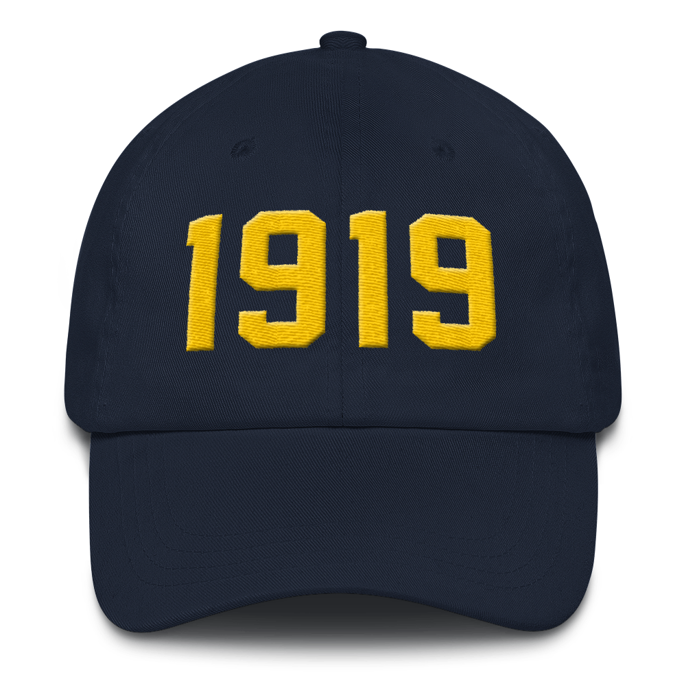 Image of 1919 Dad Hat Navy
