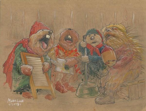 Image of the jug band!