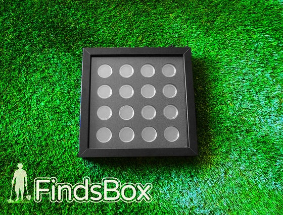 Image of SALE FindsBox Coin Capsule Display Special
