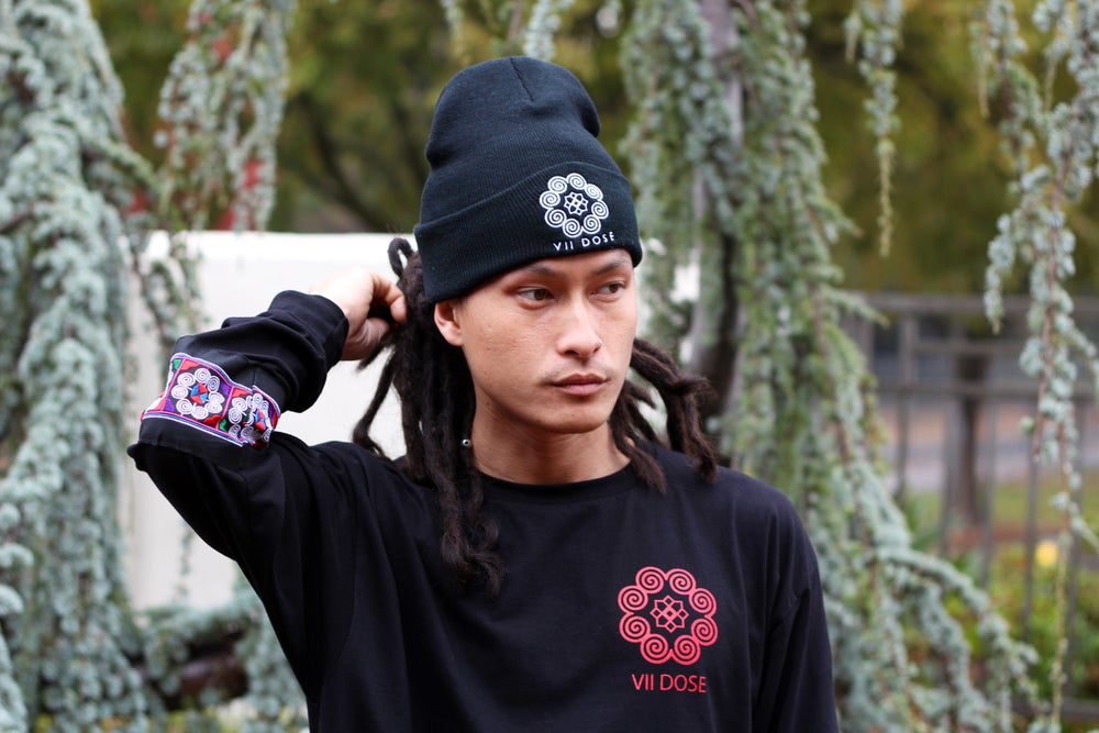 """Image of """"Roots & Culture"""" Long Sleeve Tee (Black)"""