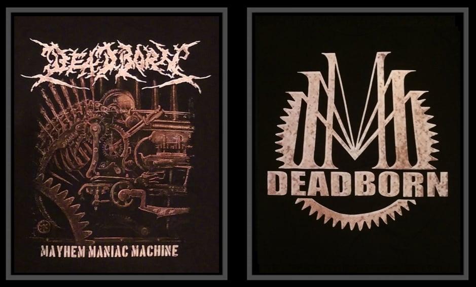 Image of T-Shirt - Mayhem Maniac Machine