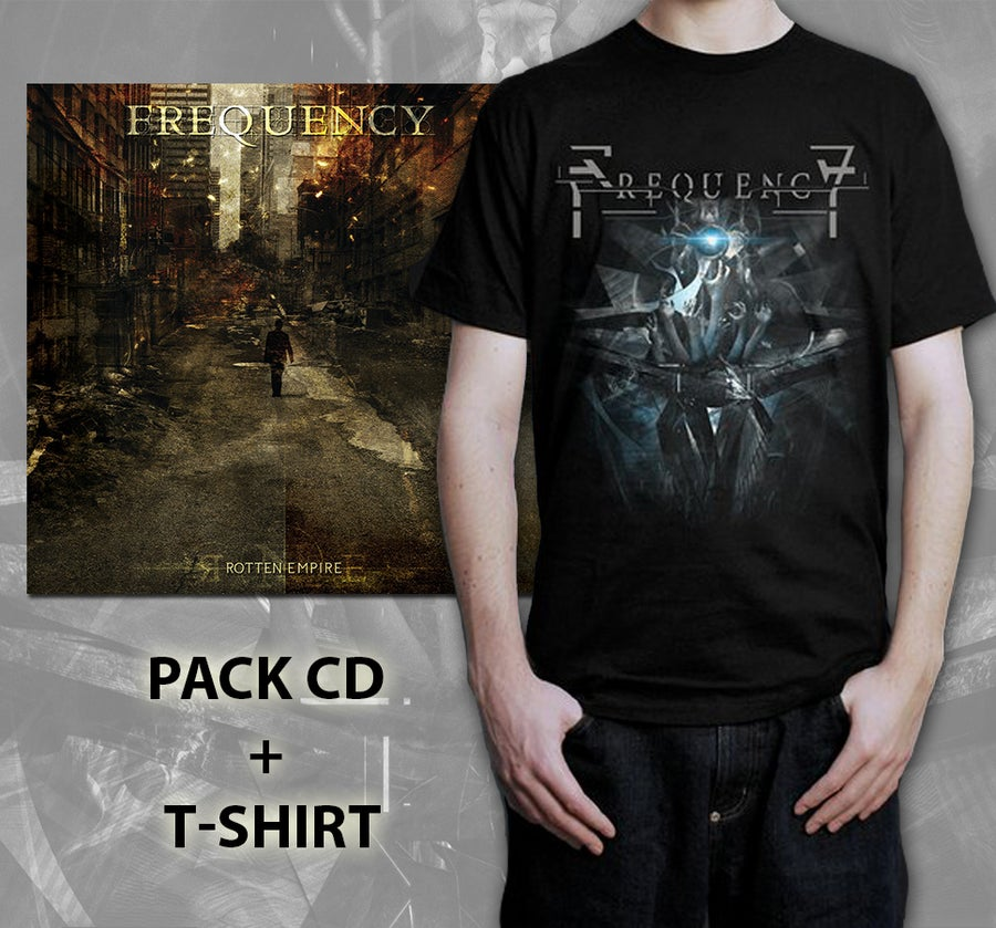 Image of Pack T-Shirt The Flow + CD Rotten Empire