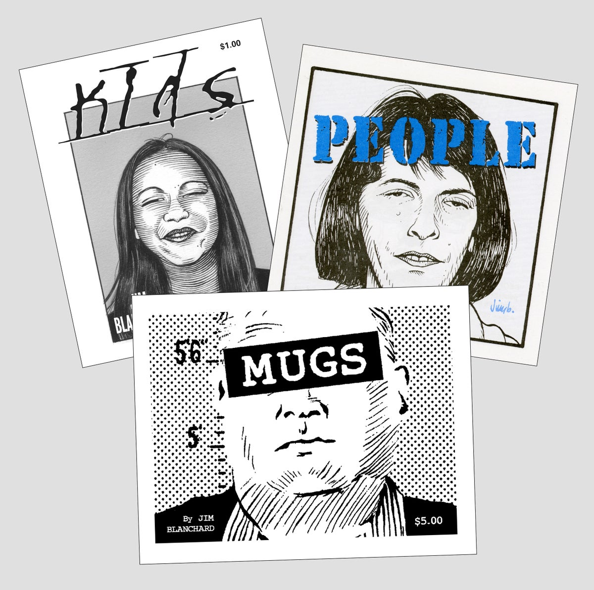 Image of KIDS, PEOPLE, & MUGS mini books