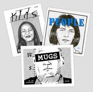 Image of KIDS, PEOPLE, & MUGS mini books