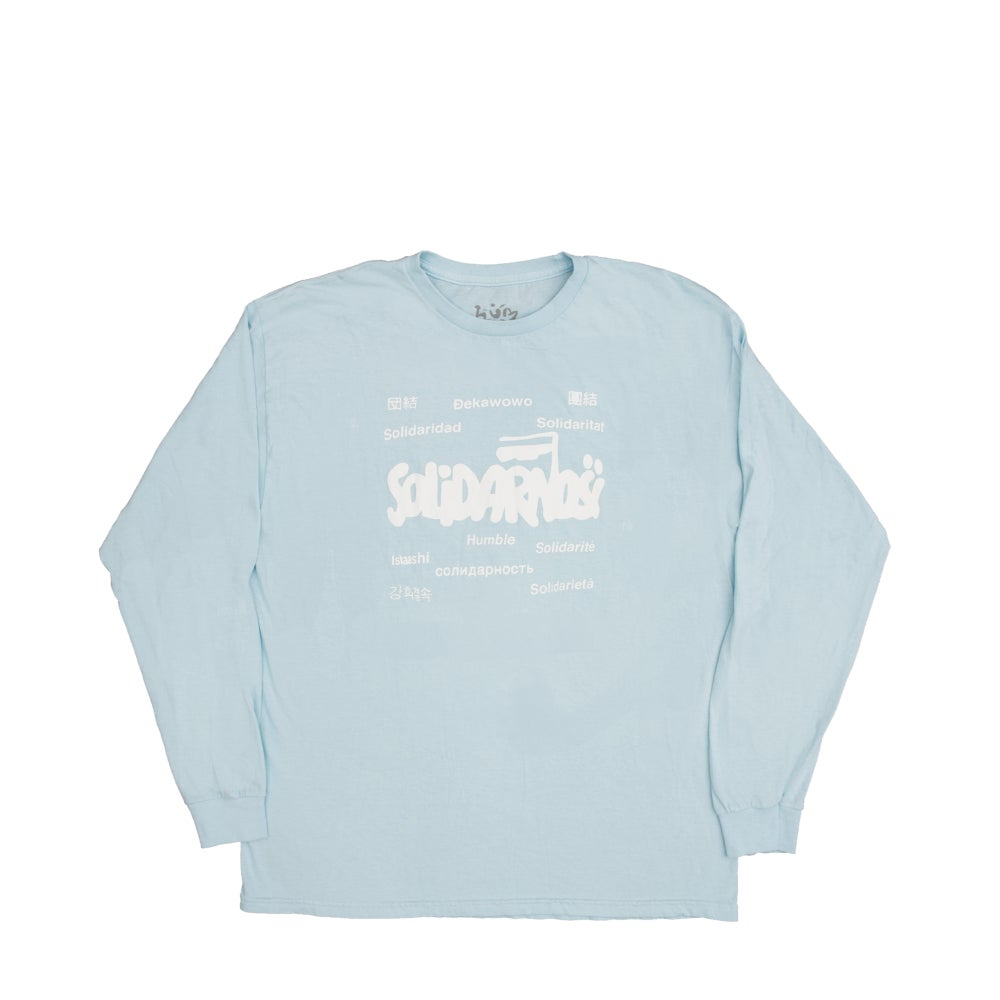Image of Solidarity Long Sleeve (Sky Lake Blue)