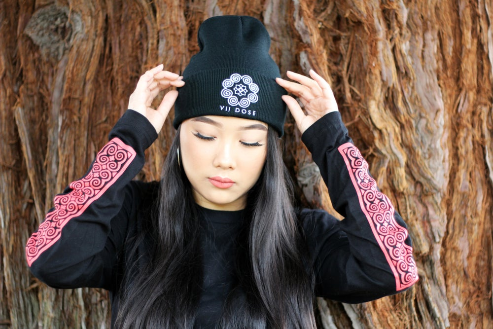 "Image of ""Roots & Culture"" Beanies (Black)"