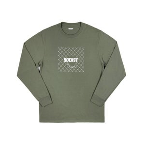 Image of 90East Trespass Long Sleeve Tee Army Green