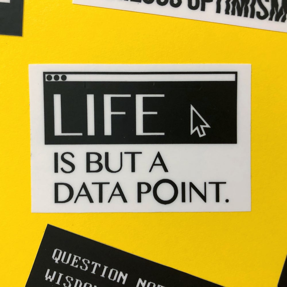 Image of Life is but a Data Point
