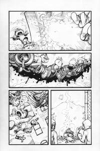 Image of Original Garbage Pail Kids Comic Book Art - Page 5
