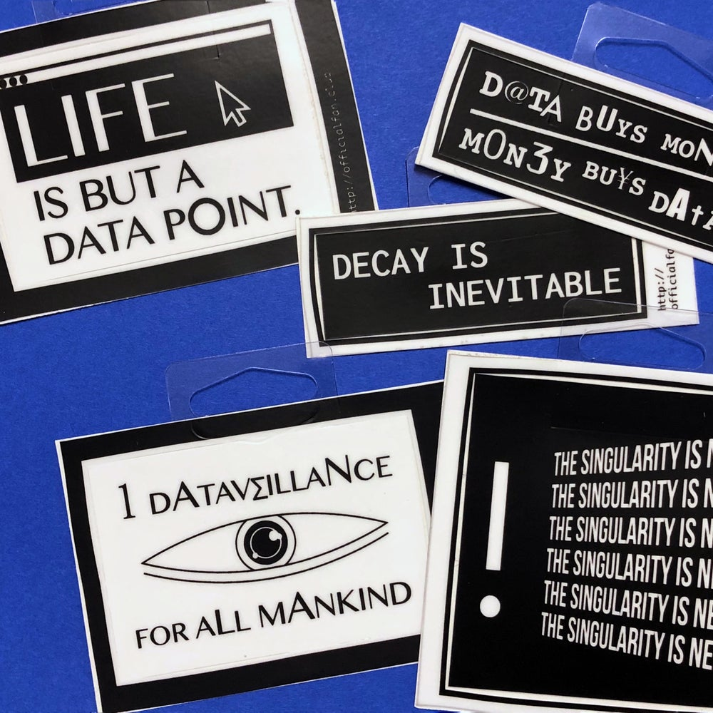 Image of Data Goth Sticker Pack