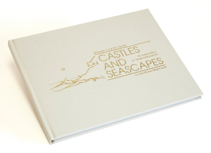 "Image of ""Castles and Seascapes"": Hardcover Exhibition Book"
