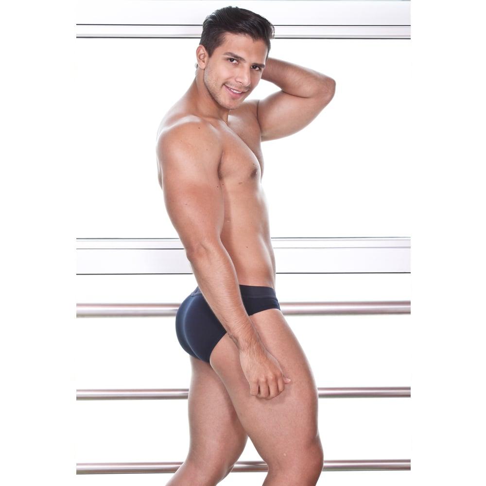 Image of BRIEF DEPORTIVO AZUL MARINO