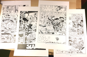 Image of Original Page from The Creeps: The Trolls Will Feast!