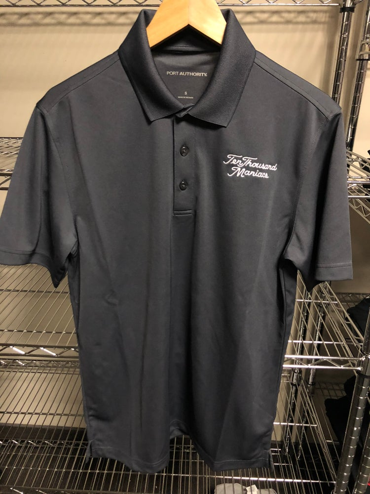 """Image of """"Ten Thounsand Maniacs"""" Embroidered Golf Shirt"""