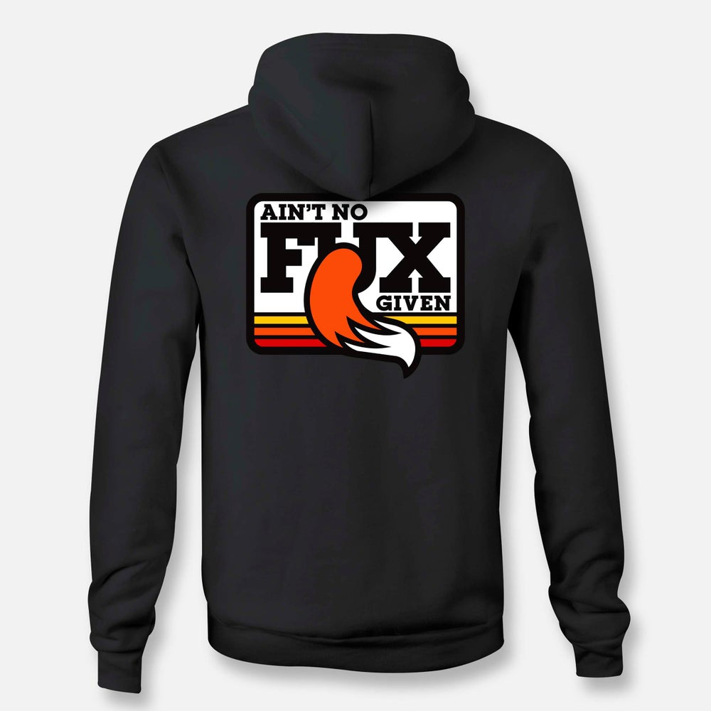Image of NO FUX ZIP HOODIE