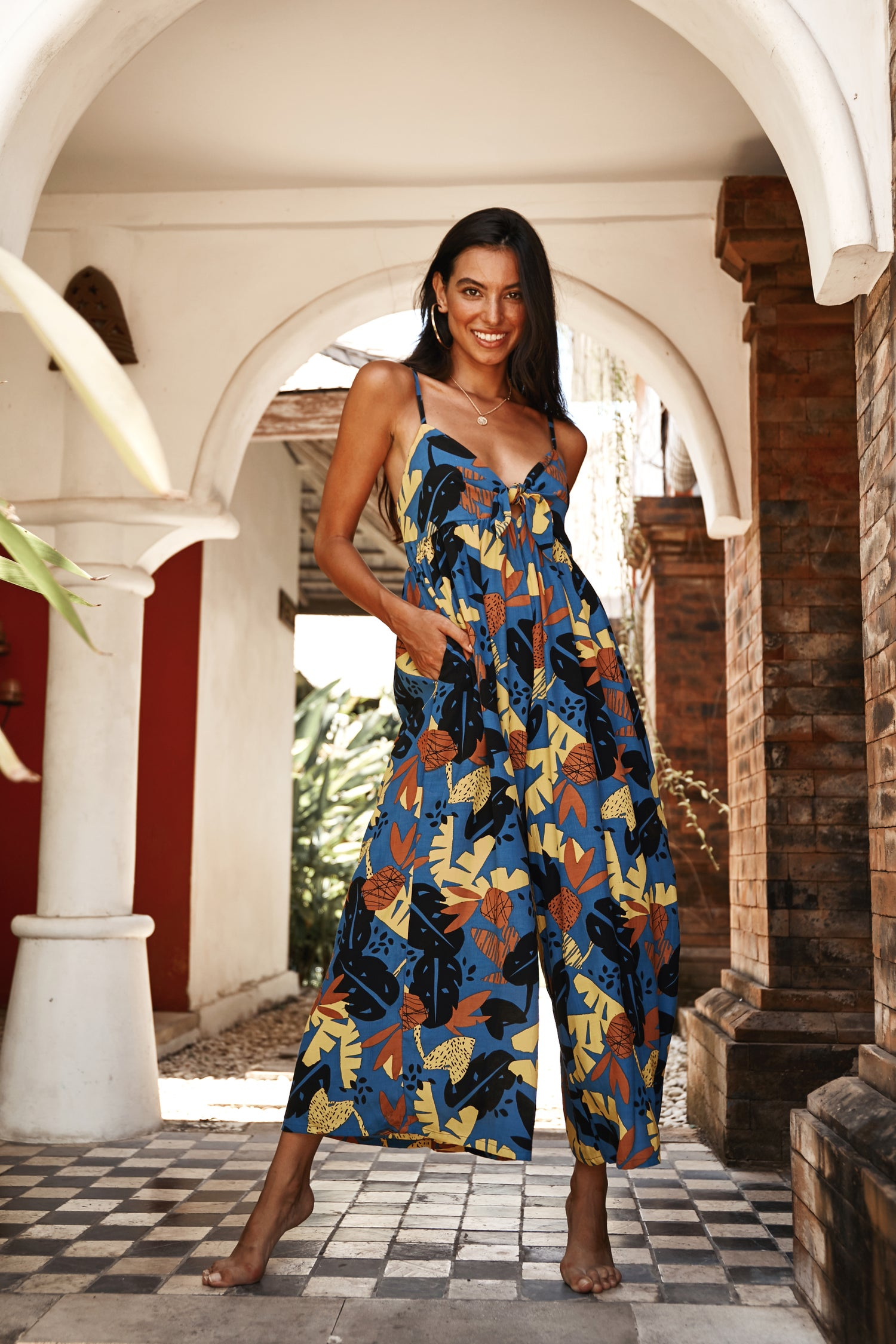 Image of LIHUE JUMPSUIT - COCOBANA