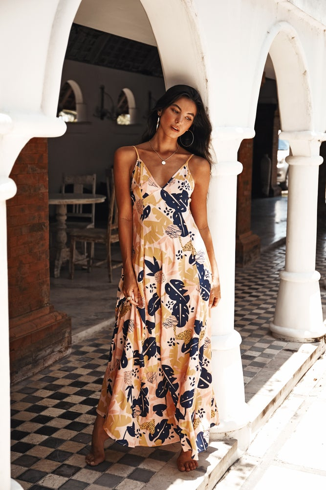 Image of VERADO MAXI DRESS - FLORIPA