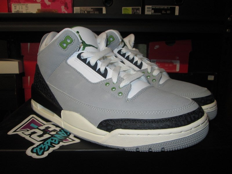 "Image of Air Jordan III (3) Retro ""Chlorophyll"""