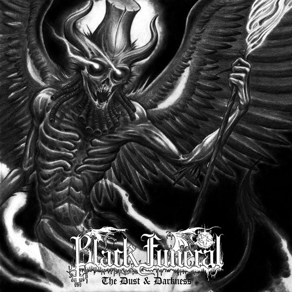 "Image of Black Funeral - ""The Dust & Darkness"" CD"