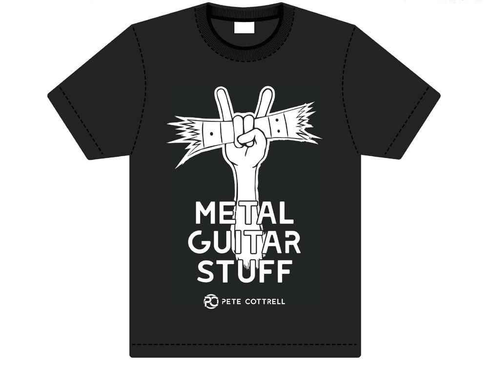 Image of METAL GUITAR STUFF T-SHIRT
