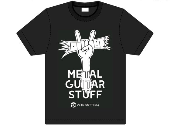 Image of METAL GUITAR STUFF T-SHIRT