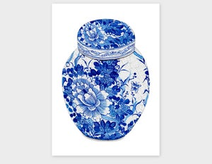 Image of Blue and White Vase - prices in AU$