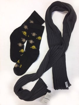 Image of Merino Levitate Scarf and Sock Set