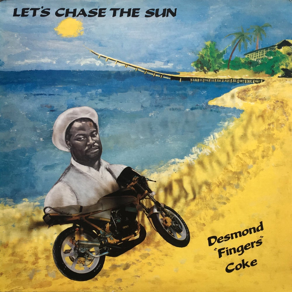 "Image of DESMOND ""FINGERS"" COKE - CHASING THE SUN LP"