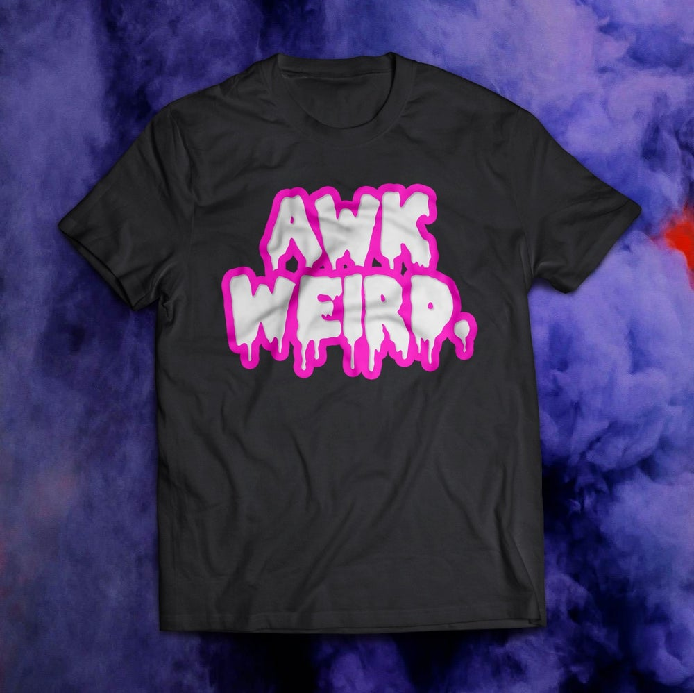 "Image of Awkweird ""TACKY"" Glow-in-the-dark TEE"