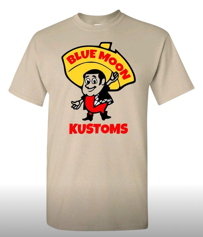 Image of BMK tshirt size large w/ stickers