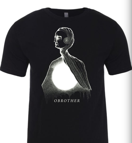 Image of BLACK HOLE TEE (BLACK)
