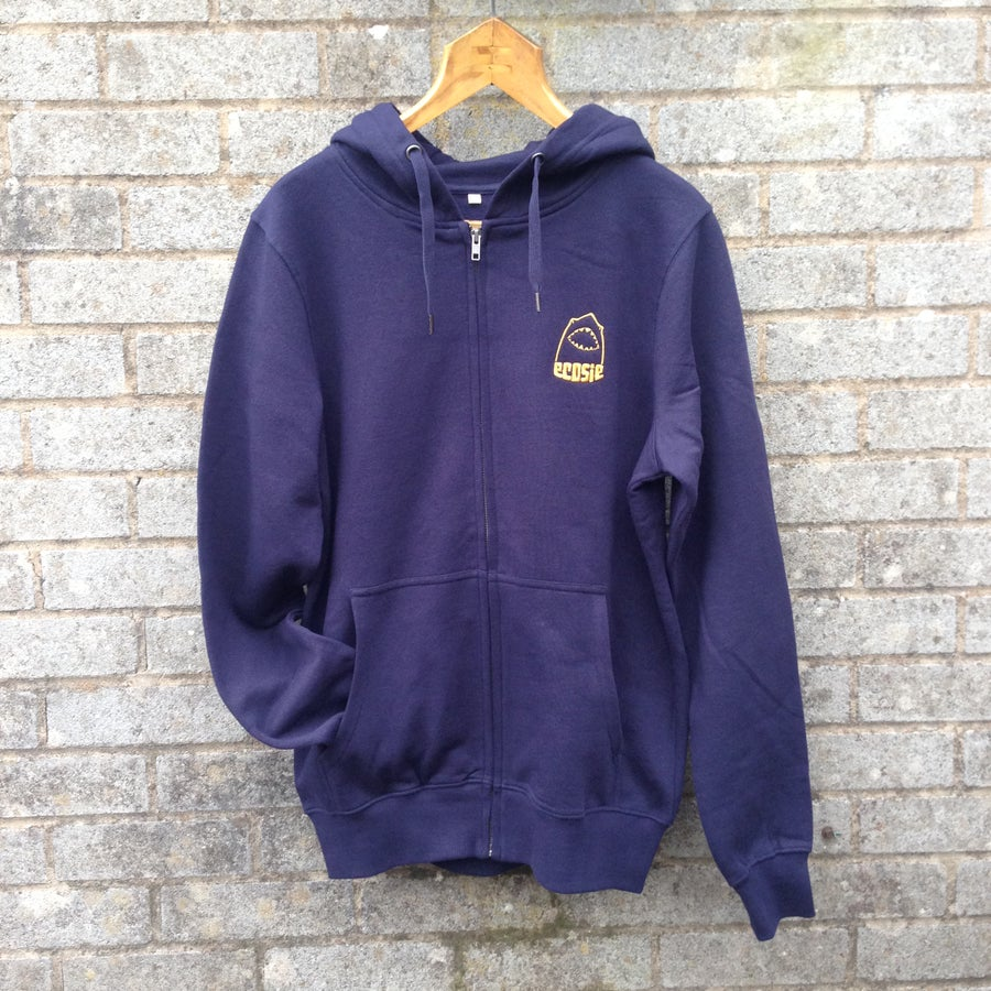 Image of Ecosie McSharky Organic Cotton Hoodie Zipper