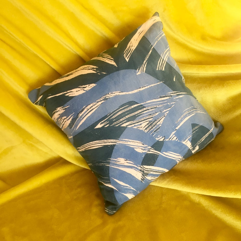 Image of KHIEM CUSHION (BLUE)