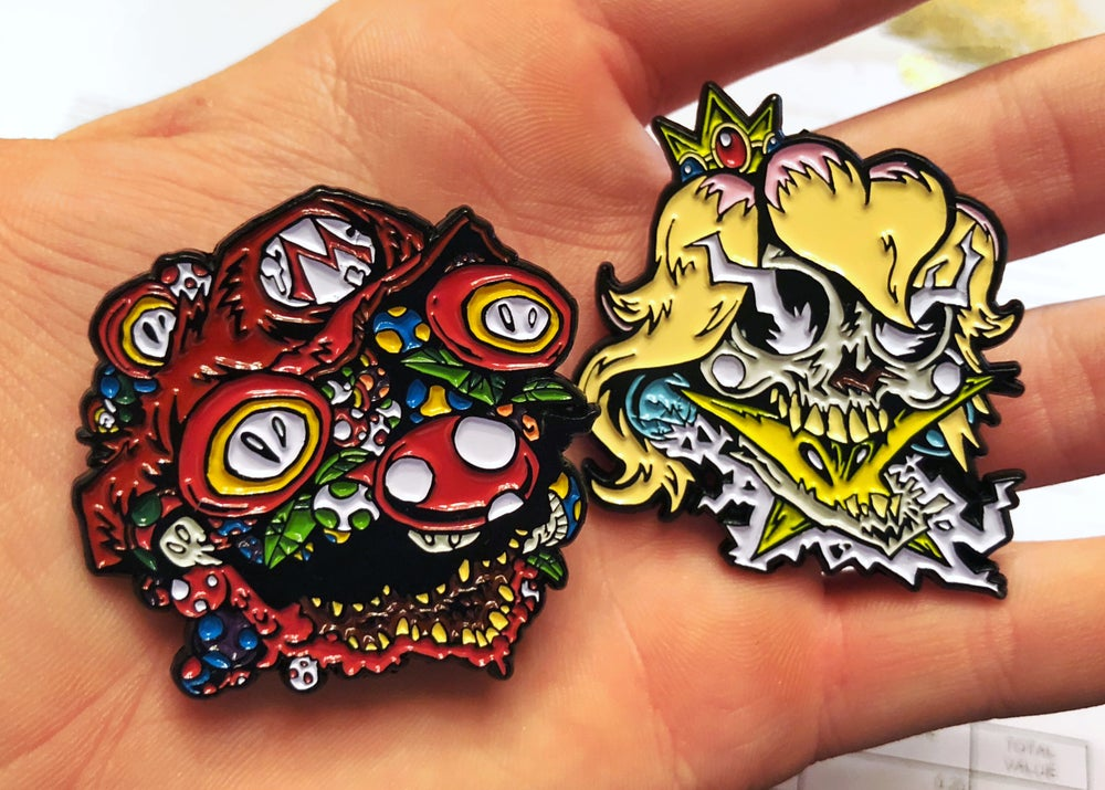 Image of M + P || FUNGI FRESH Soft Enamel Pin Set