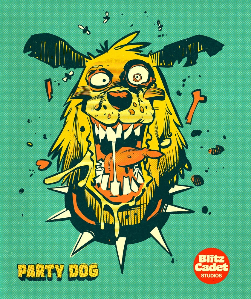 Image of PARTY DOG SHIRT