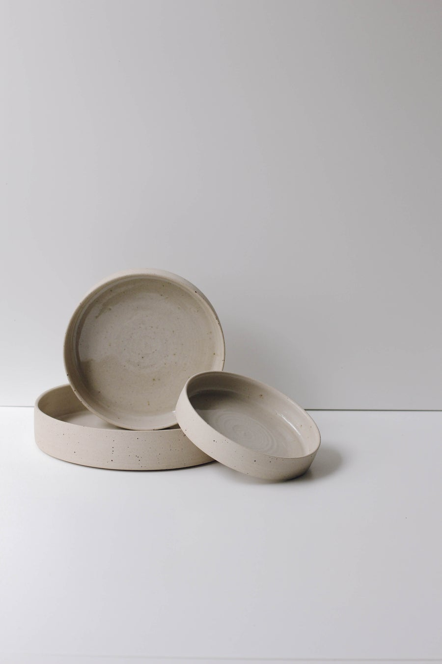 Image of Large Serving Platters Flecked