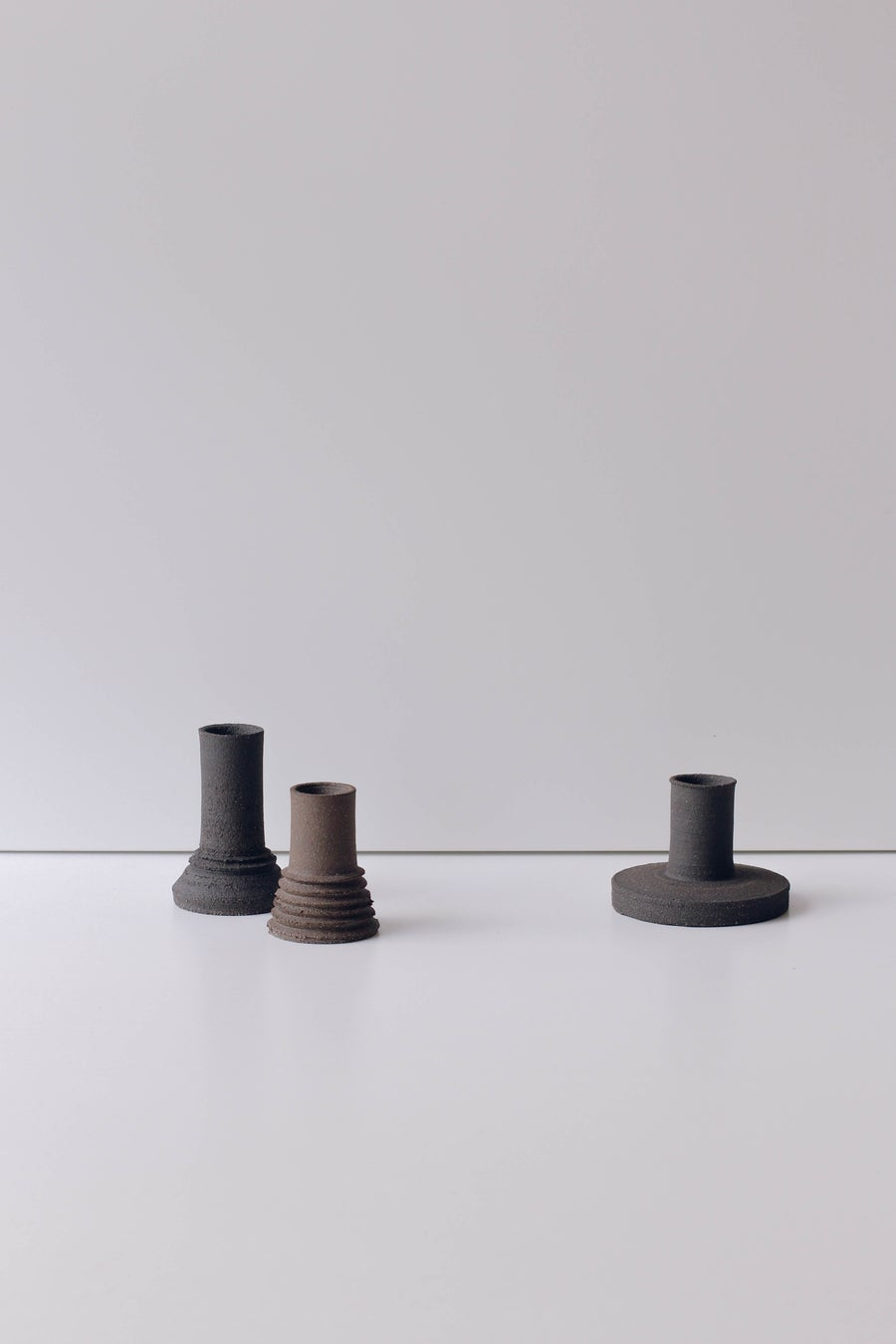 Image of Texturised Candleholders