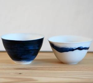 Image of Bols Porcelaine - Bleu