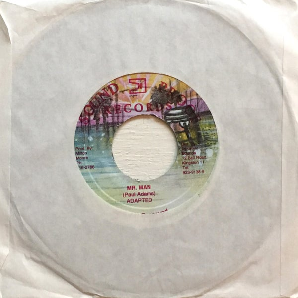 Image of PAUL ADAMS - MR MAN 7""