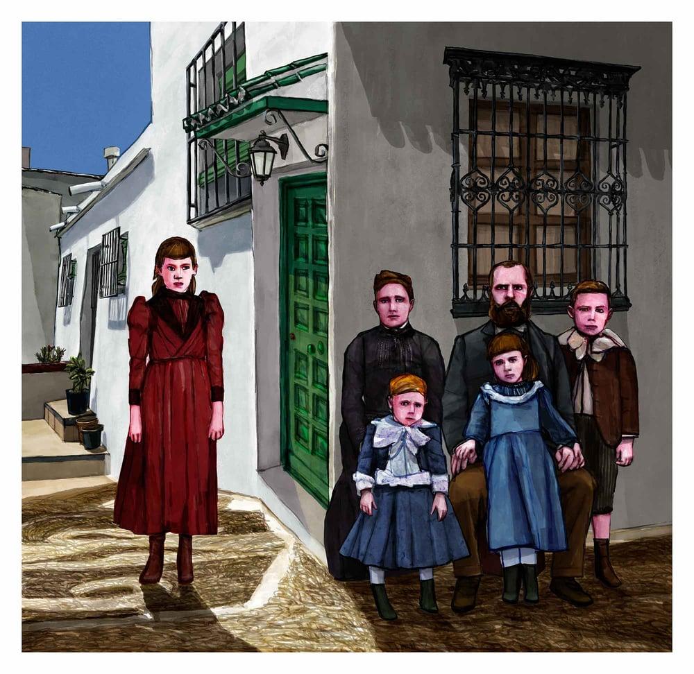 Image of Frigiliana La Axarquía | Buy Illustration Art Prints for Sale