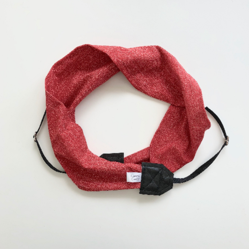 Image of Red Black or Gray Camera Strap Knit Cross body | Great Photographer Gift