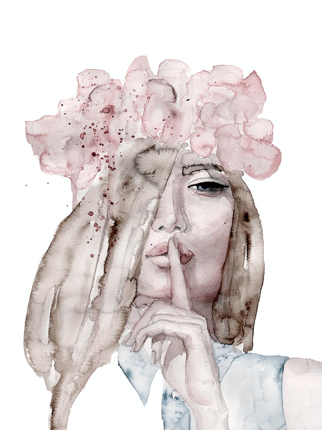 Image of Lolita Art Print
